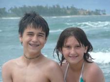 Enjoying a trip to Hawaii in 2011