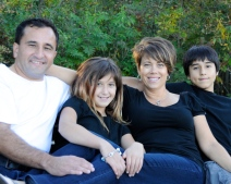 Our one and only official family portrait, taken in 2011, I think