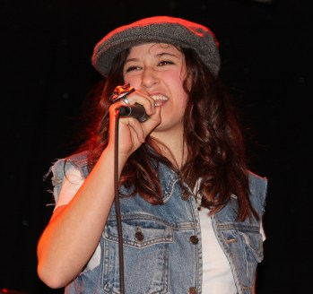 My girlie belting out an AC/DC tune in Jan, 2013