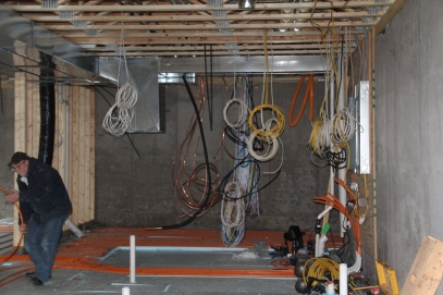 Oh my.  Some day this will all be a neat and tidy mechanicals room...