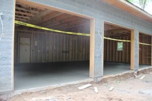 Garage floor is poured!