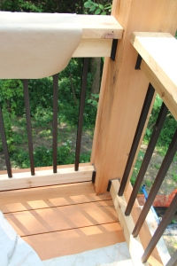 A peek at the Ipe deck