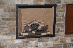 Fireplace ready for winter (I am not)
