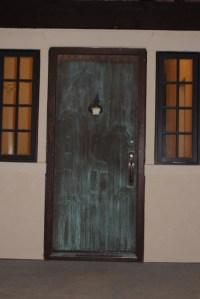 Outside of front door