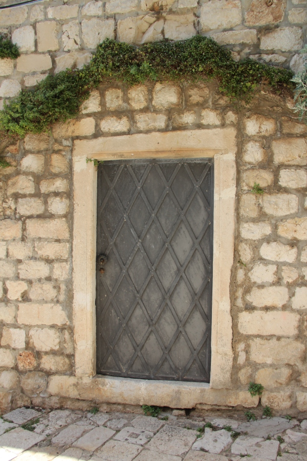 I am totally obsessed with old doors. Sorry: there will be more photos