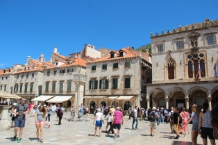 The Stradun in the daytime