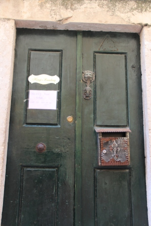 this door is labelled King's Landing, one of many Game of Thrones references