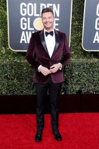 Ryan Seacrest: dashing. Hell, I'd wear this (maybe that is a bad thing-- for him?)