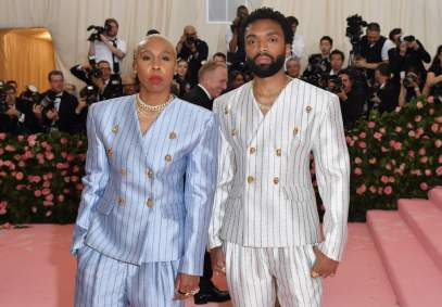 Lena Waithe and designer Kerby Jean-Raymond. Why is this camp?