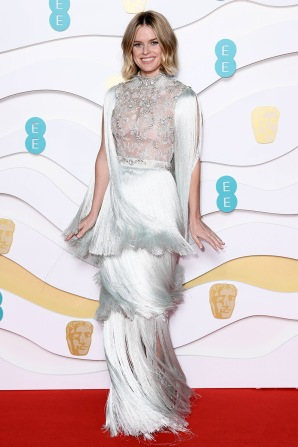 Mandatory Credit: Photo by David Fisher/BAFTA/Shutterstock (10543584he) Alice Eve 73rd British Academy Film Awards, Arrivals, Royal Albert Hall, London, UK - 02 Feb 2020